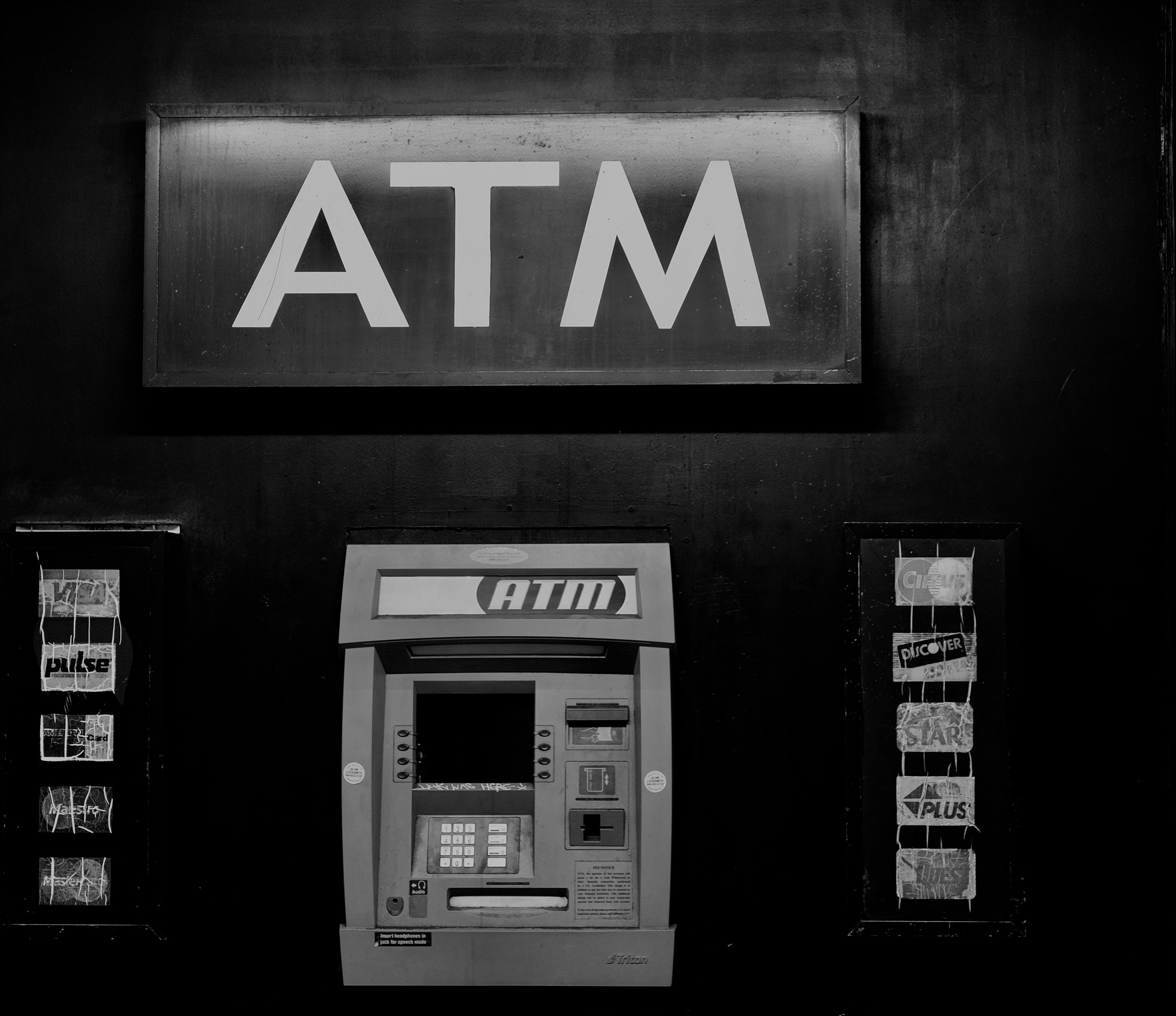Exterior of an ATM